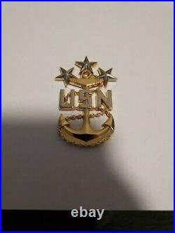12th Master Chief Petty Officer of the Navy MCPON Rick West Challenge Coin RARE
