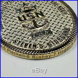#14 Master Chief Petty Officer Of The Navy MCPON Challenge Coin (NEW)