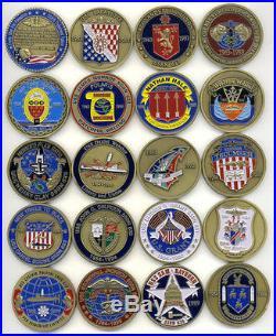 19 Lafayette Class Submarine Challenge Coins USN Navy