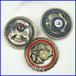 200X US Military air force Army NAVY MARINE CORPS CHALLENGE COIN set Gift