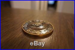 2018 Trident Spectre Navy SEAL NGA CIA DIA FBI INTEL SOCOM Special Warfare Coin