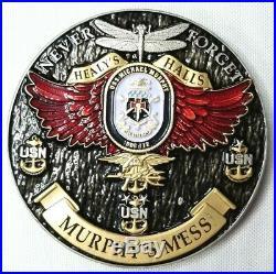 3 US Navy USN Chiefs CPOA Challenge Coin USS Michael Murphy DDG 112