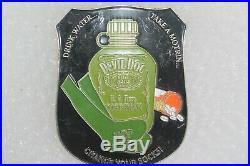 5'' U. S. Navy Devil DOC Corpsman 121st Hospital Corpsman Ball Challenge Coin