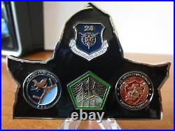 6 Challenge Coins US Cyber Command JSOC CIA SWC Navy Seal Teams Two & Team Six