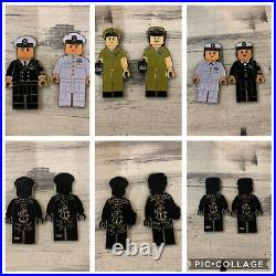 6 Coin Lego navy chief cpo challenge coin
