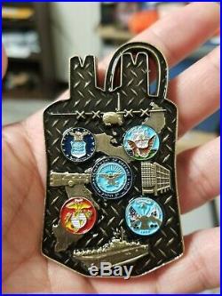 6 U. S. Navy Challenge Coins Bundle