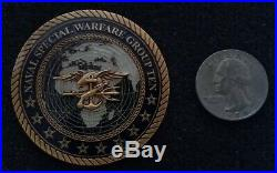 AUTHENTIC Naval Special Warfare Group Ten Navy Seal Team 10 NSWG Challenge Coin
