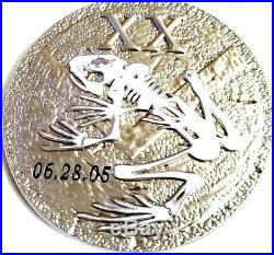 Amazing 2.5 US Navy Military CPO Seals Challenge Coin USS Murphys Mess 06.28.05