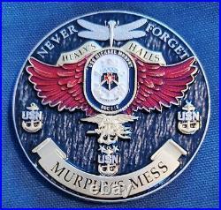 Amazing 3 Navy USN Chiefs CPOA Challenge Coin USS Michael Murphy (DDG-112) v9