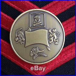 Authentic Jsoc U. S. Navy Devgru Seal Team Six 6 Challenge Coin Circa 2008