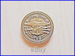 Authentic Navy SEAL Team 10 Challenge Coin Naval Special Warfare Coin Military
