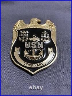 Awesome 2.5 USN CPO Chiefs Mess Challenge Coin NCIS
