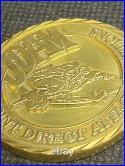 BOEING USAF DEPT OF NAVY Very Rare JDAM Weapon Of Choice Challenge Coin