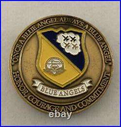 Blue Angels Demonstration Squadron US Navy and USMC Challenge Coin (Rare) B12