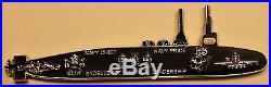 Boomer Submarine ser#082 Silent Service Chief's Navy Challenge Coin