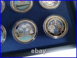 Bradford Exchange U. S Navy Challenge Coin collection