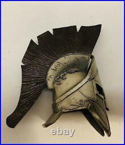 Brand New-US Navy SEAL-DEVGRU-NSW-SOCCENT-Silver&Black Vers. Spartan Helmet Coin