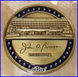 CIA DIRECTOR JOHN BRENNAN Central Intelligence Agency Challenge Coin