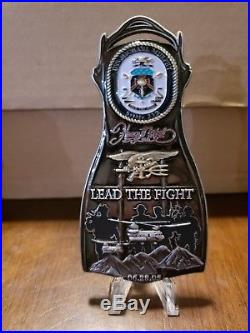CPO Chief Challenge Coin USS Michael Murphy NAVY SEAL Fin DDG no nypd msg RARE