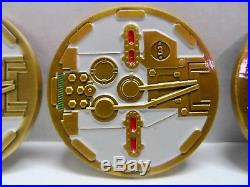 Challege Coin USN Navy WE DO IT ON IMPULSE Set of 4 Submarine Silent Service USA