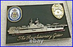 Challenge Coin BONHOMIE RICHARD LHD-6, Navy SECURITY FORCES