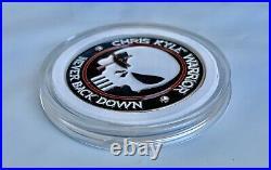 Chris Kyle CK Warrior Bone Frog Navy Seals Punisher Skull CPO NSW Challenge C0in