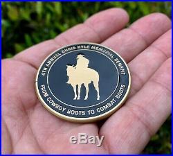 Chris Kyle Ck Seal Team 3 Navy Seals 2017 Benefit Sniper Nsw Cpo Challenge Coin