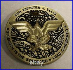 Commander NSWG-3 Logistic & Support Unit 3 CDR Ellis Navy Challenge Coin / SEAL