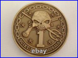 Commander Naval Special Warfare Group One Navy SEAL Challenge Coin / 1