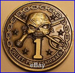 Commander Naval Special Warfare Group One Navy SEAL Teams 1/3/5/7 Challenge Coin