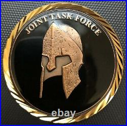DEVGRU Black Squadron Task Force Challenge Coin Navy SEAL ST6 NSWDG CIA