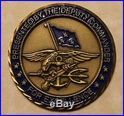 Deputy Commander Central Command CENTCOM Navy SEAL Challenge Coin