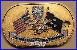 Deputy Commander Southern Command 3-Star Admiral Navy SEAL Navy Challenge Coin
