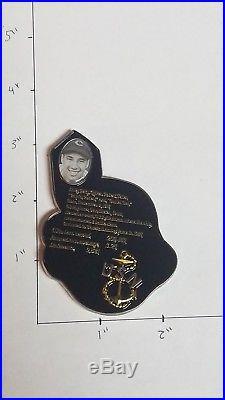 EXTREMELY RARE! Bob Feller Baseball Hall Of Fame Navy Chief CPO Challenge Coin