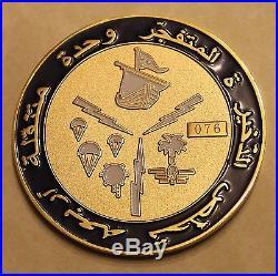Explosive Ordnance Disposal Mobile Unit 4 Ser #76 MiddleEast Navy Challenge Coin