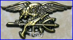 Extortion 17 Memory of Fallen DEVGRU SEAL Aug 2011 Bronze Navy Challenge Coin