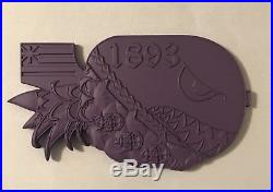 Extremely Rare- Brand New- Big-Ube Pinapple Bomb Navy Chief/CPO Challenge Coin