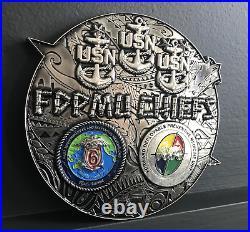 Fdpmu Chiefs / Hawaii / Cpo / Usn / Rare / Huge
