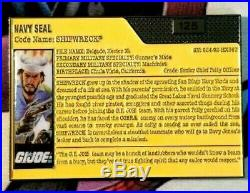 GI JOE Navy Seal Shipwreck Challenge Coin Numbered #125 EXTREMELY RARE