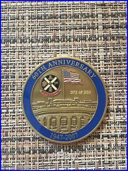 HMX-1 60th Anniversary Challenge Coin #72 of 250, U. S. Navy, U. S. Marines, VHTF