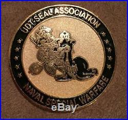 Hard-To-Find US Navy UDT-SEAL Association Naval Special Warfare Challenge Coin