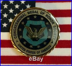 John W. Finn Navy Ww2 Medal Of Honor Challenge Coin, Pearl Harbor Item #6500