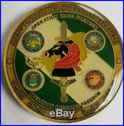 Joint Psychological Operations Task Force PSYOPS OEF Army USMC USN USAF Coin