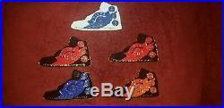Jordan 1 shoes, 5 Navy pride challenge coins