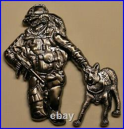K-9 Master at Arms Handler SEALS Chief Navy Challenge Coin