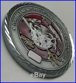 Lot of 2 USN SEAL TEAM Seven 7 Bravo BULLS No. IRAQ Bravo BASTARDS Philippines