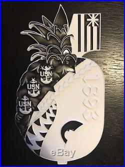 Massive- Sought After-Star Trooper- Navy Chief/CPO Challenge Coin- Awesome Coin