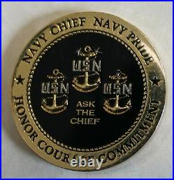 Menwith Hill Navy Information Operations CMD Joint NSA Echelon Challenge Coin