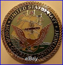 Menwith Hill Station UK NSA Combined Joint Navy Command NETWARCOM Challenge Coin