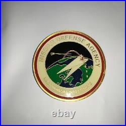 Missile Defense Agency SBX-1 Challenge Coin U. S. Navy BMDS Sensors Directorate